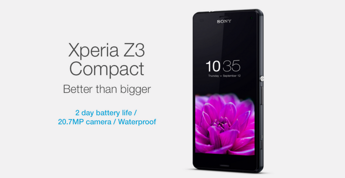 Sony Xperia Z3 advert